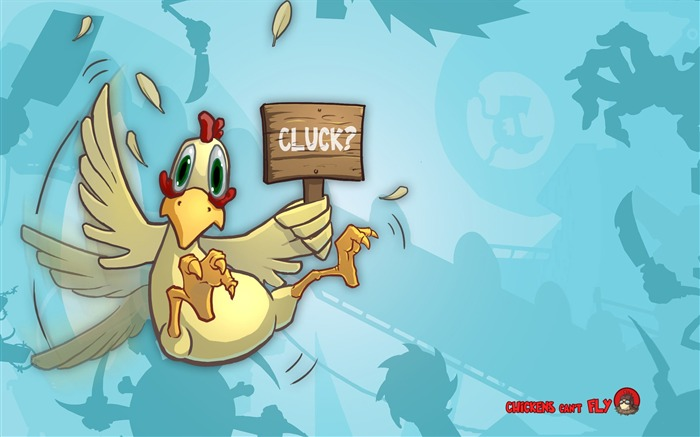 Clucking chickens can not fly-Windows Theme Wallpapers Views:1972