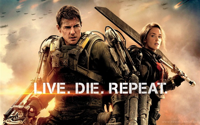 Edge of Tomorrow 2014 Movie HD Desktop Wallpaper Views:5432