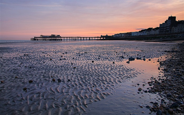 Sunset Hastings-Windows Theme Wallpapers Views:3587