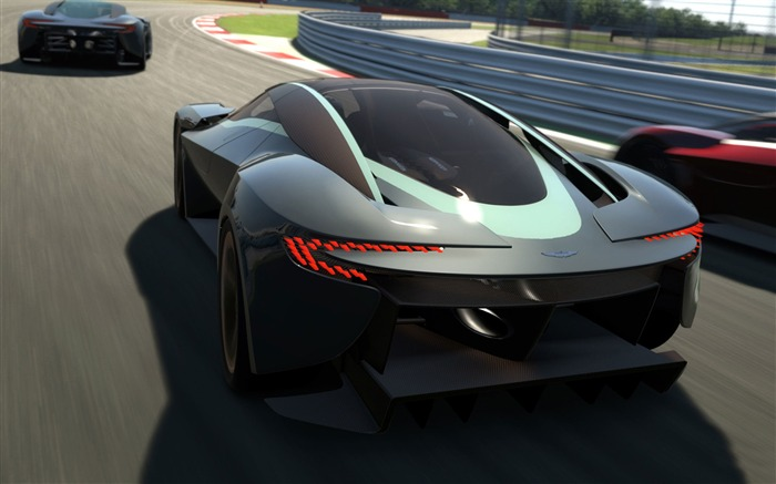 2014 Aston Martin DP-100 Concept Auto HD Wallpaper 05 Views:2862