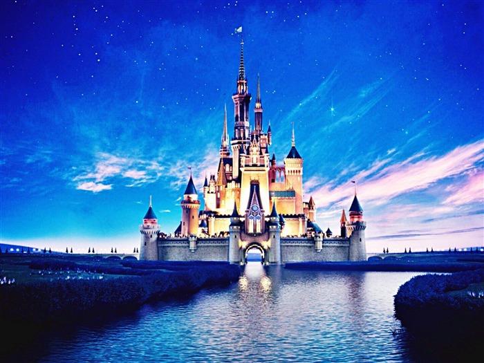 迪士尼乐园城堡-城市高清壁纸
