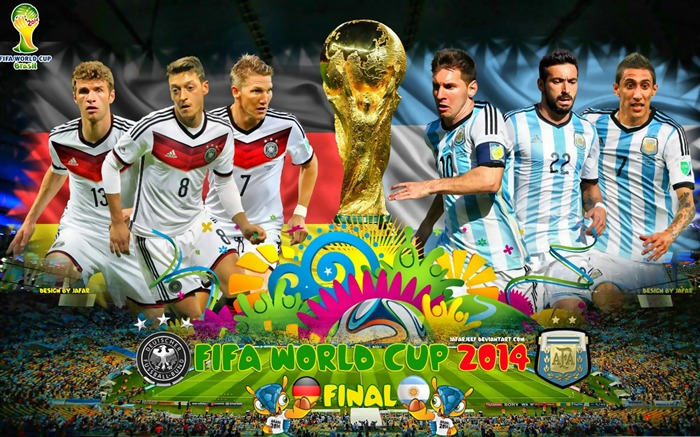 Brazil World Cup 2014 Final Argentina HD Wallpaper Views:7599
