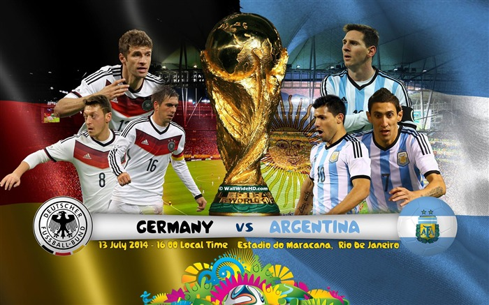 Brazil World Cup 2014 Final Germany HD Wallpaper Views:5909