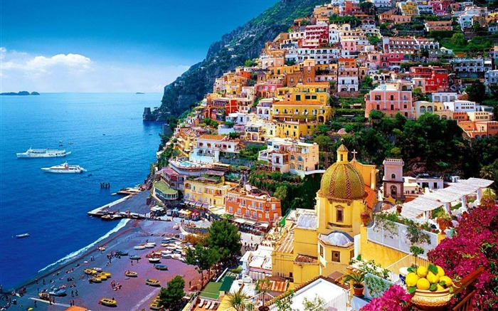 Amalfi Coast Italy-City HD Wallpaper Views:9804
