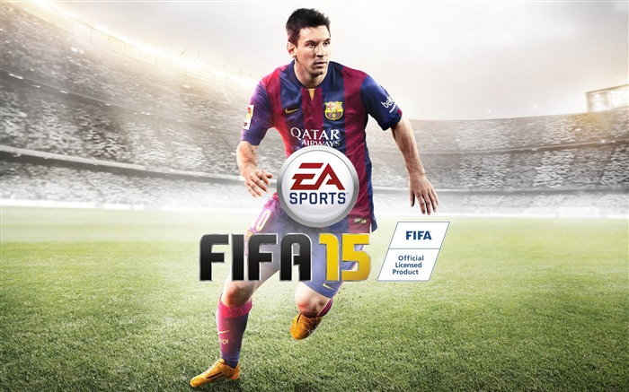 FIFA 15 Game HD Desktop Wallpaper Views:13337