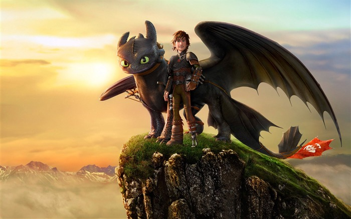 How to Train Your Dragon 2 movie hd wallpaper 02 Views:2631