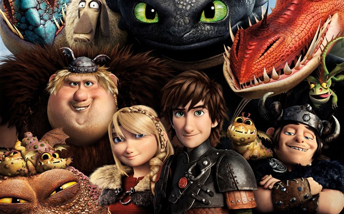 How to Train Your Dragon 2 movie hd wallpaper 10 Views:2714