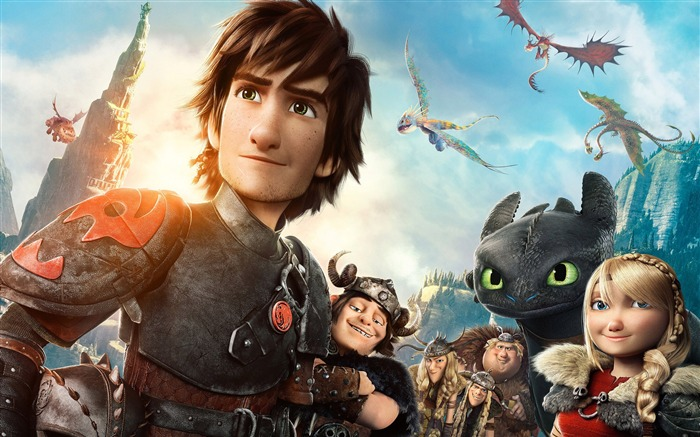 How to Train Your Dragon 2 movie hd wallpaper 11 Views:2679