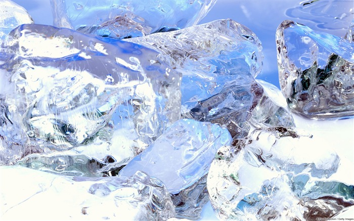 Ice close-up-Windows HD Wallpaper Views:2609