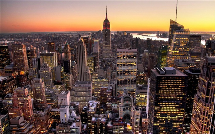 New York-City HD Wallpaper Views:3285