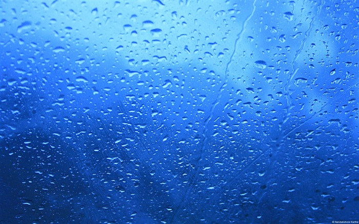 Rain streaks-Windows Theme Wallpaper Views:1979