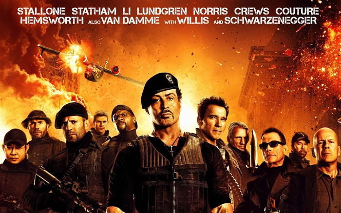 The Expendables 3 movie hd wallpaper Views:13908