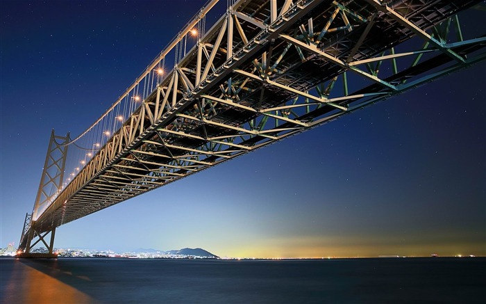 akashi kaikyo bridge-City HD Wallpaper Views:3202