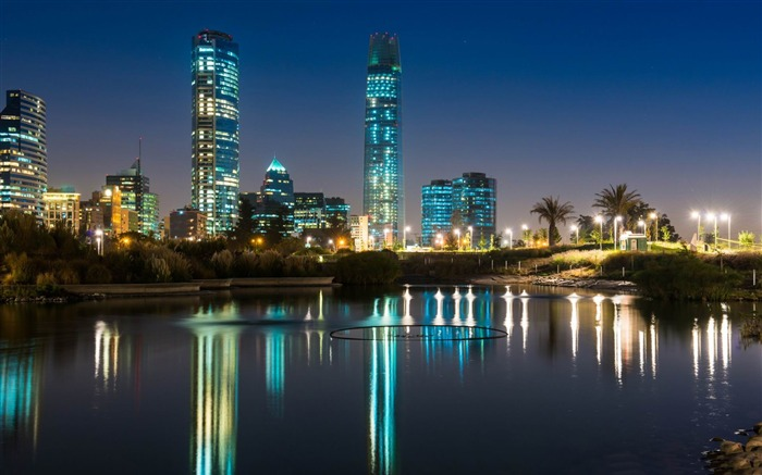 gran torre santiago-City HD Wallpaper Views:2783