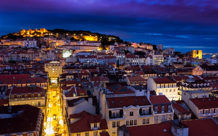 lisbon portugal buildings-City HD Wallpaper Views:3842