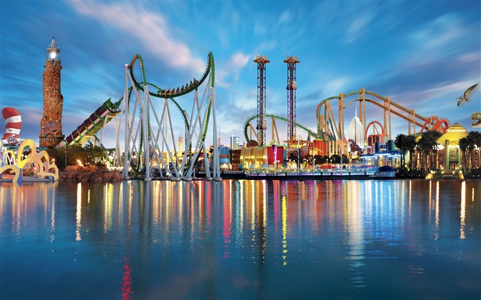 Amusement Park-HD Widescreen Wallpaper Views:3864