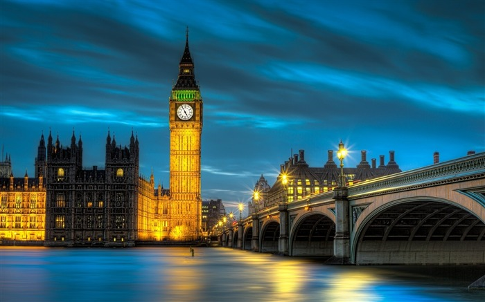 Big Ben London-HD Widescreen Wallpaper Views:3283