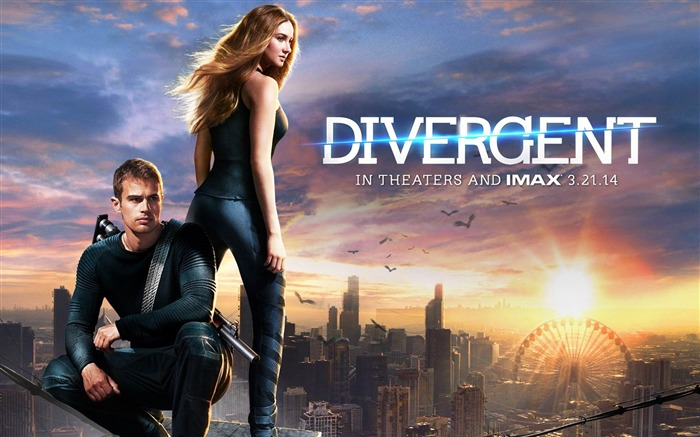 Divergent 2014 Movie HD Desktop Wallpaper Views:10392