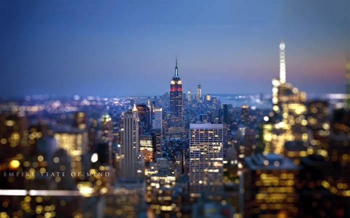 Empire State Building-landscape HD wallpaper Views:2326