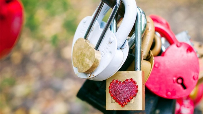 Love Padlocks-High quality wallpaper Views:1981