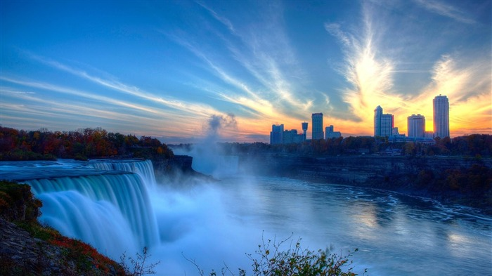 Niagara Waterfall Canada-Nature HD Wallpaper Views:3094