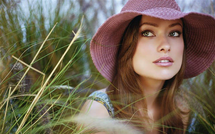 Olivia Wilde-Beauty photo wallpapers Views:2990
