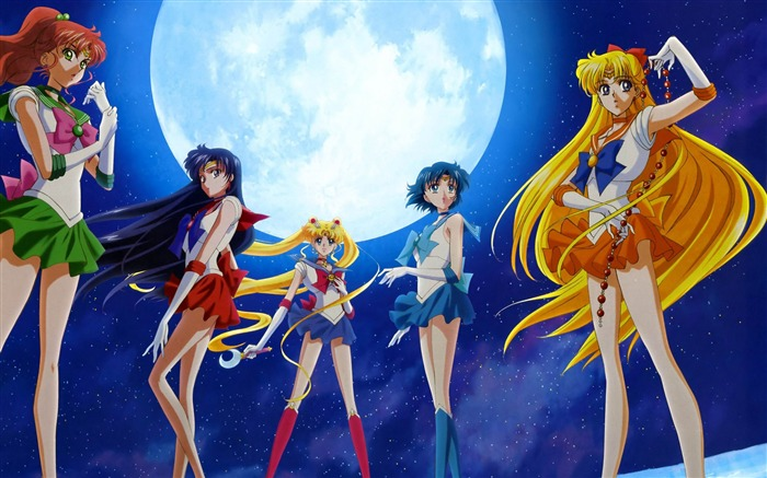 Sailor Moon Anime HD Desktop Wallpaper Views:16551