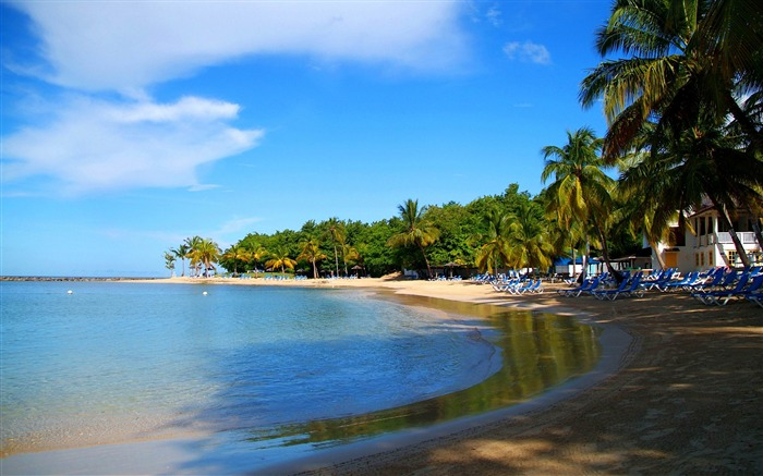 Saint Lucia Beach-Nature HD Wallpaper Views:2961