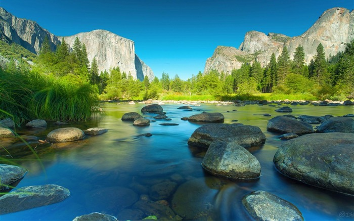 Yosemite National Park Microsoft theme wallpaper Views:11806