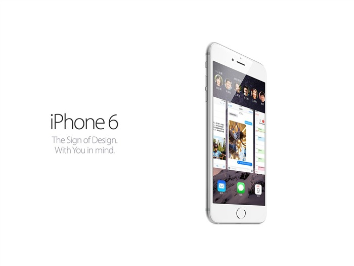 iPhone 6 Apple official HD Desktop Wallpaper 17 Views:1132