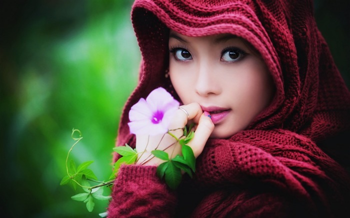 September beauty model photo HD Wallpaper Views:14091