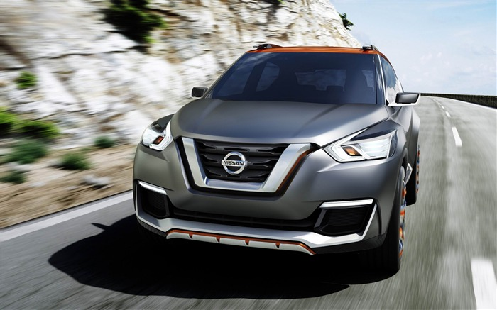 Nissan Kicks concept car HD Desktop Wallpaper Views:4867