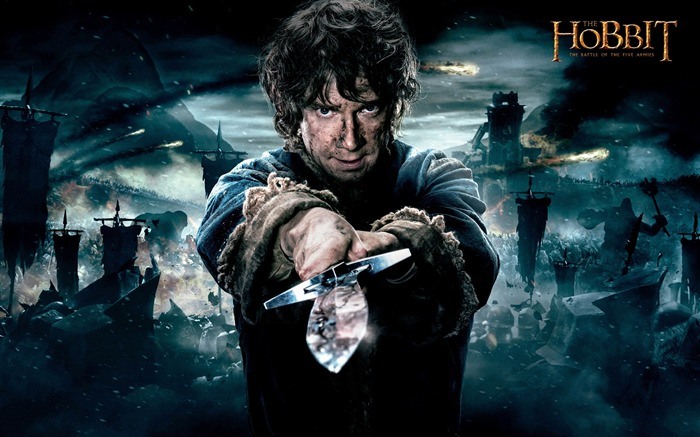 The Hobbit The Battle of the Five Armies 2014 HD Movie Wallpaper Views:9642
