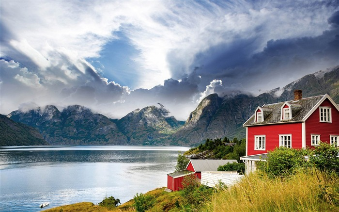 norway landscape-Scenery HD Wallpapers Views:2218
