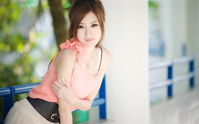 Asian pure beauty model photo Wallpaper Views:11253