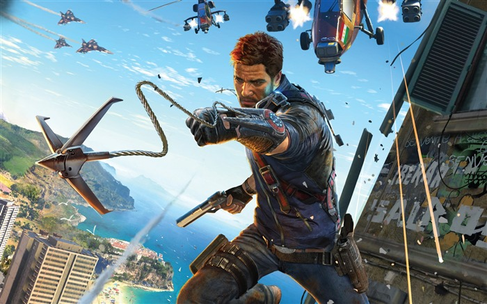 Just Cause 3 Game HD Desktop Wallpaper Views:4408