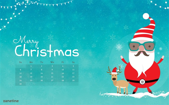 Title:Merry Christmas-December 2014 Calendar Wallpaper Views:2925