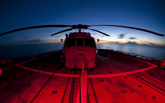 helicopters red and blue-military HD Wallpaper Views:3554