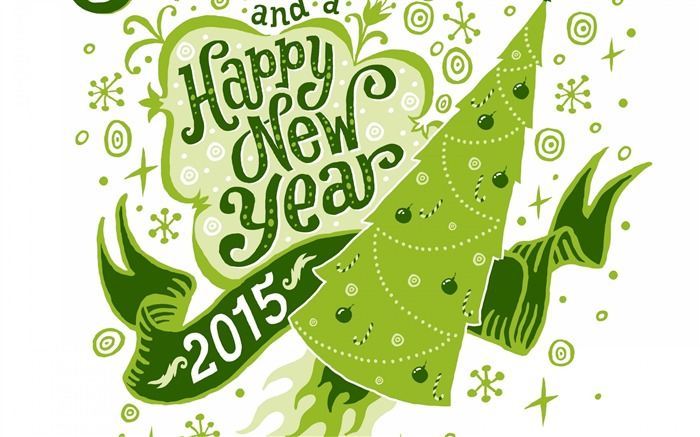 2015 Happy New Year Theme Desktop Wallpaper 06 Views:2424