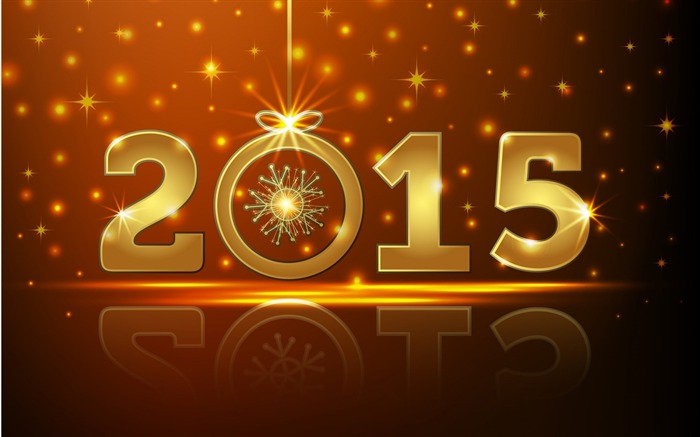 2015 Happy New Year Theme Desktop Wallpaper 10 Views:2556