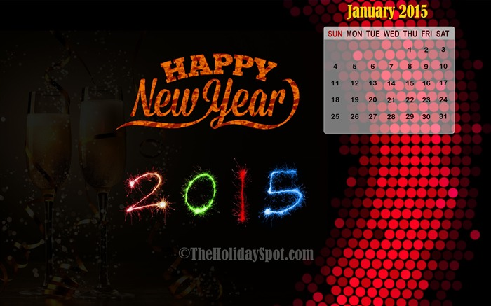 2015 Happy New Year Theme Desktop Wallpaper 12 Views:2381