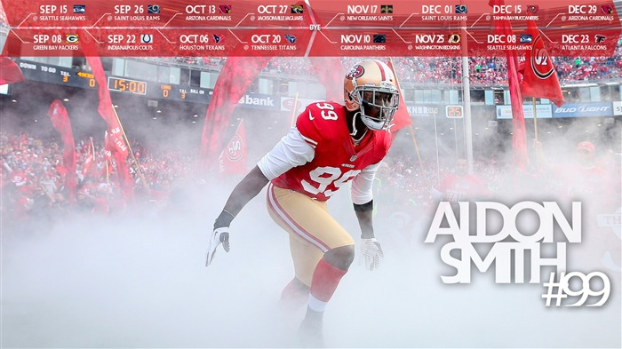49ers Aldon Smith-Sports HD Wallpapers Views:2661