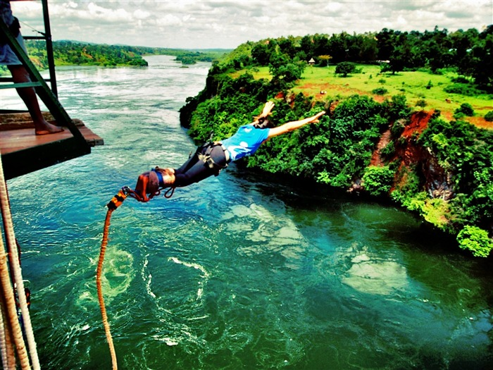Bungee Jumping-Sports HD Wallpapers Views:9193