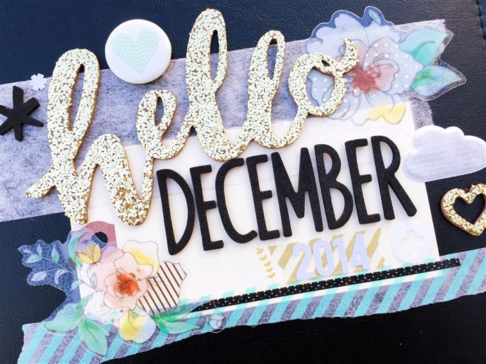 Cute Hello December-High Quality Wallpaper Views:2402