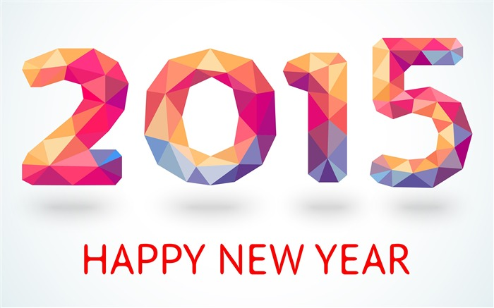 Happy New Year 2015 Theme Desktop Wallpaper Views:10655