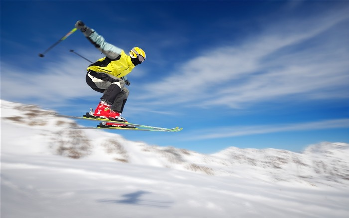 Ski Jumping-Sports HD Wallpaper Views:2861