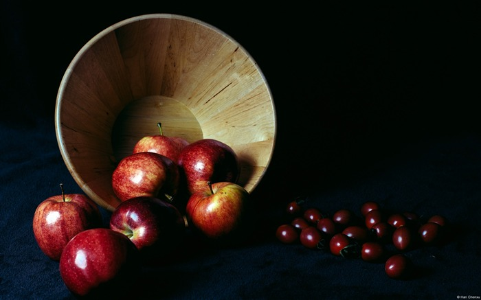 The Basket of Apples Still Life-Windows 10 HD Wallpaper Views:4146
