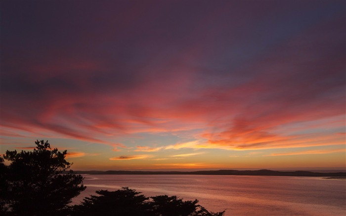 morro bay sunset-Nature wallpaper Views:5067 Date:12/12/2014 11:31:23 PM