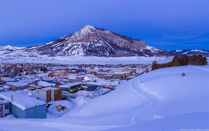 Crested Butte-Windows 10 HD Wallpaper Views:4284