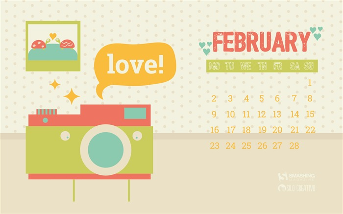 Musculitos In Love-February 2015 Calendar Wallpaper Views:1459